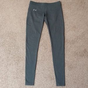Under Armour Coldgear Fitted Grey Leggings